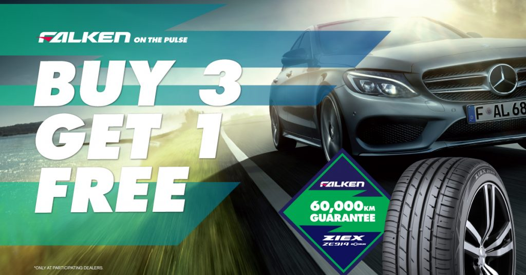 Falken Tyre 3 for 4 special. on 914's and some Wildpeaks.